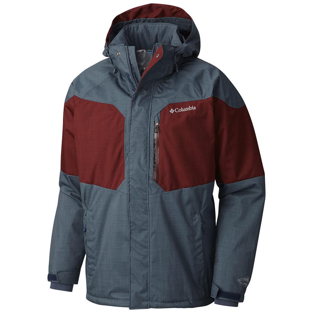 Columbia Men's Alpine Action Jacket Grey Jackets M