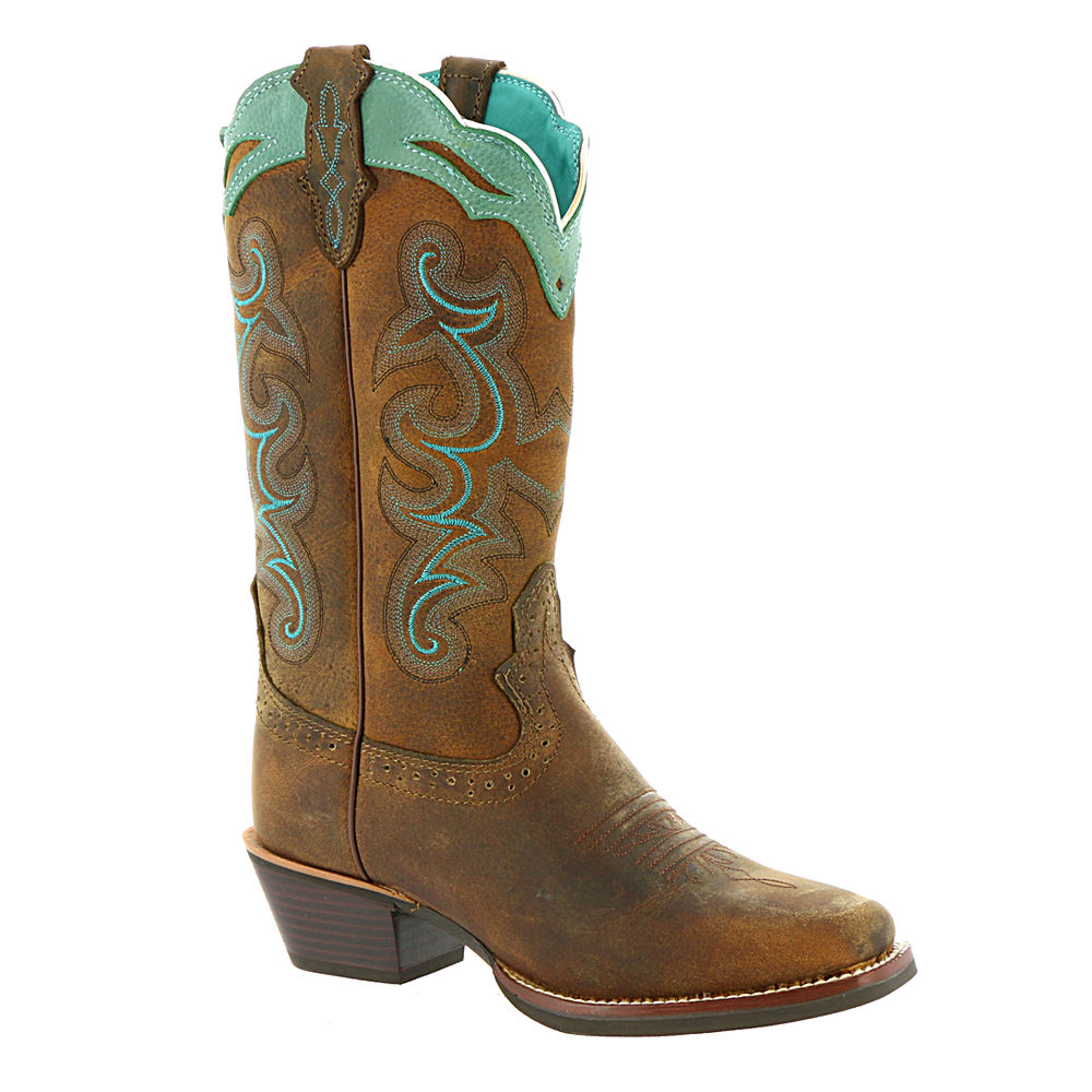 Justin Silver Collection SVL7311 Women's Tan Boot 8 B