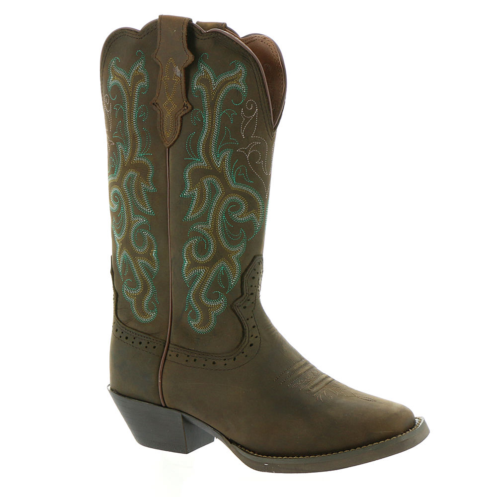 Justin Stampede Collection L2552 Women's Brown Boot 10 C