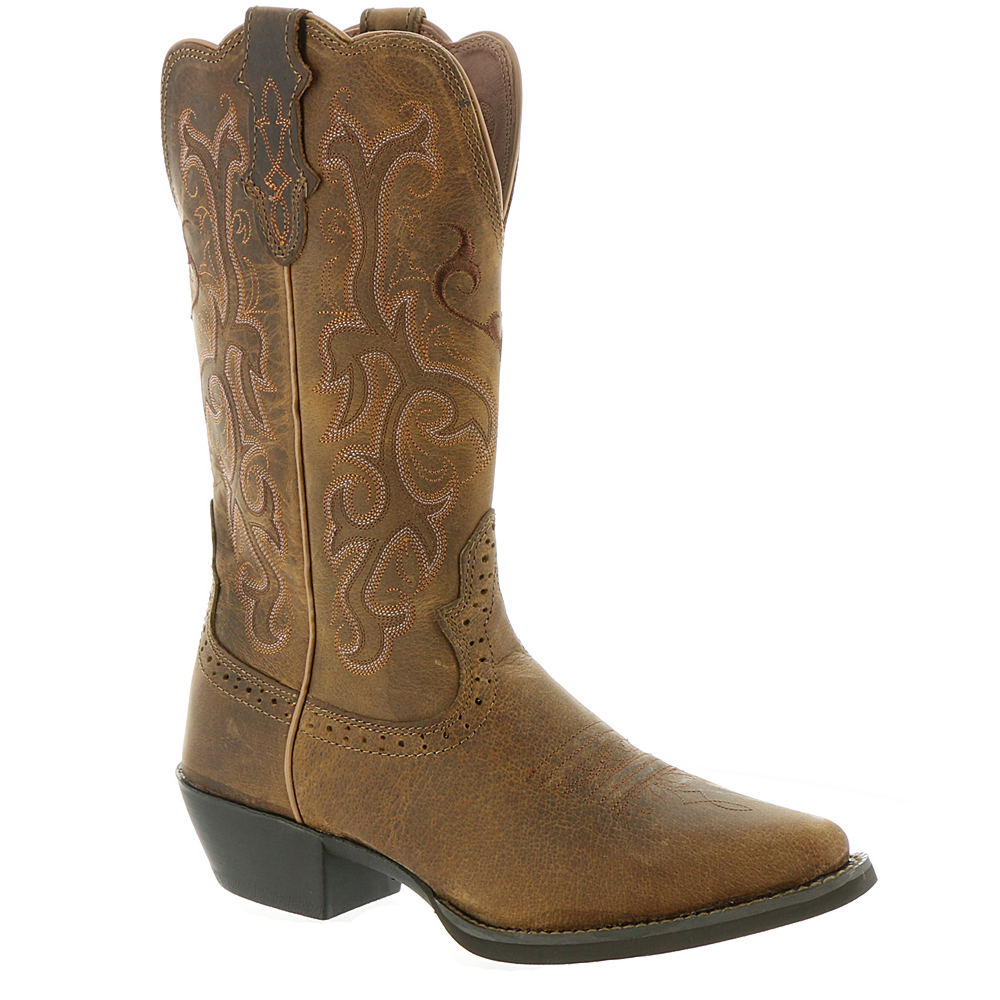 Justin Stampede Collection L2561 Women's Tan Boot 6.5 B
