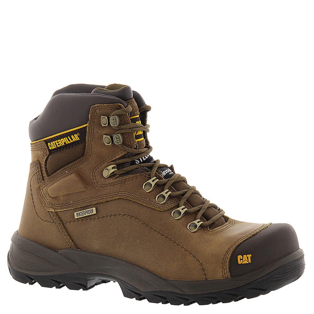 """Caterpillar Diagnostic HI WP 6"""" ST Men's Tan Boot 8 M"""