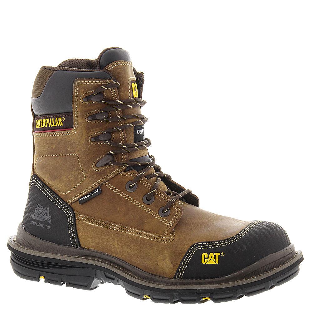 "Caterpillar Fabricate 8"" Tough WPCT Men's Brown Boot 12 M"