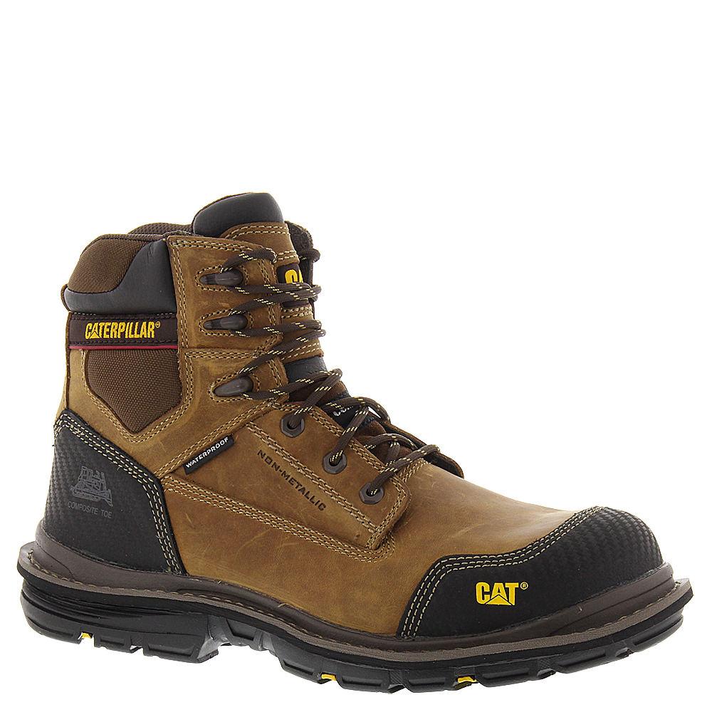 """Caterpillar Fabricate 6"""" Tough WP CT Men's Tan Boot 11 M"""