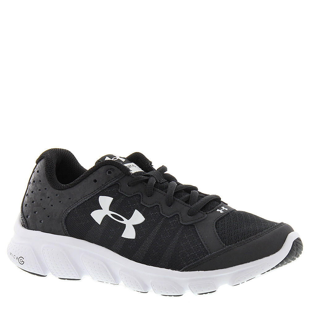Under Armour BGS Micro G Assert 6 Boys' Youth Black Running 7 Youth M 818743BLK070M