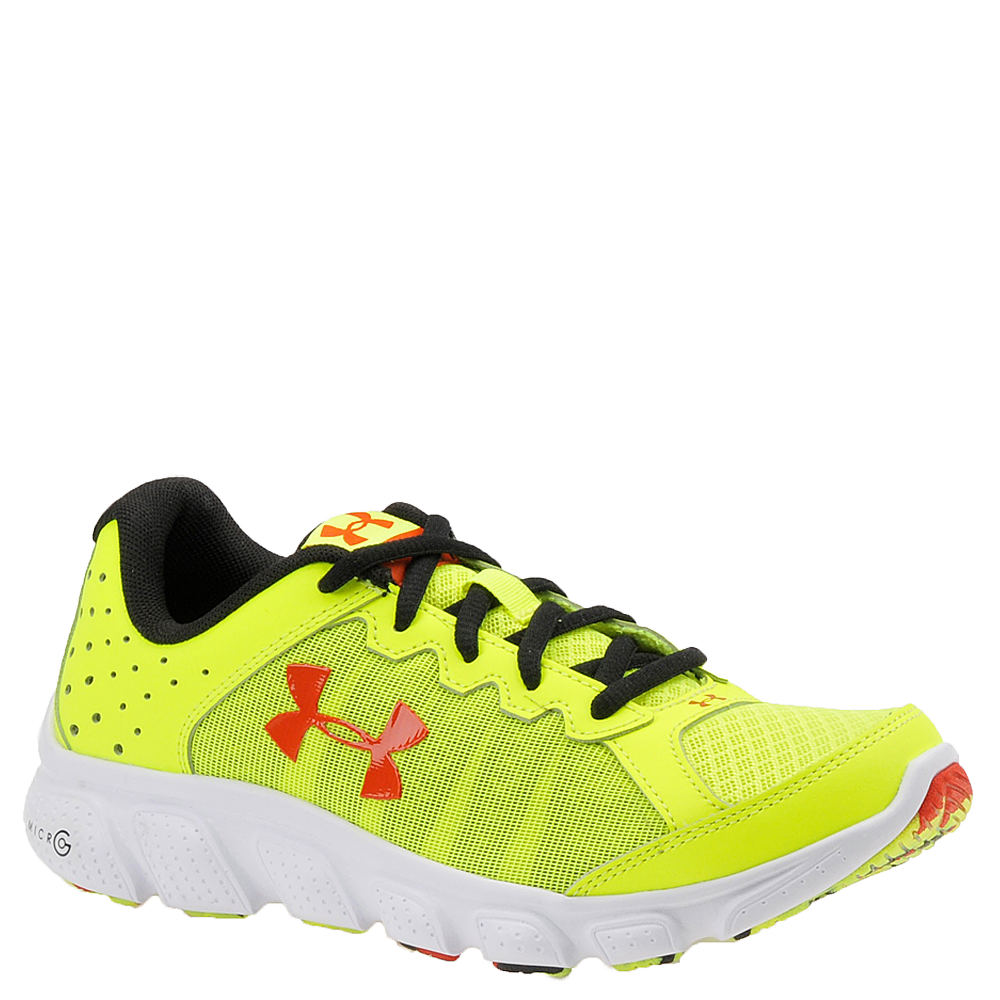 Under Armour BGS Micro G Assert 6 Boys' Youth Yellow Running 5 Youth M 820536YLW050M