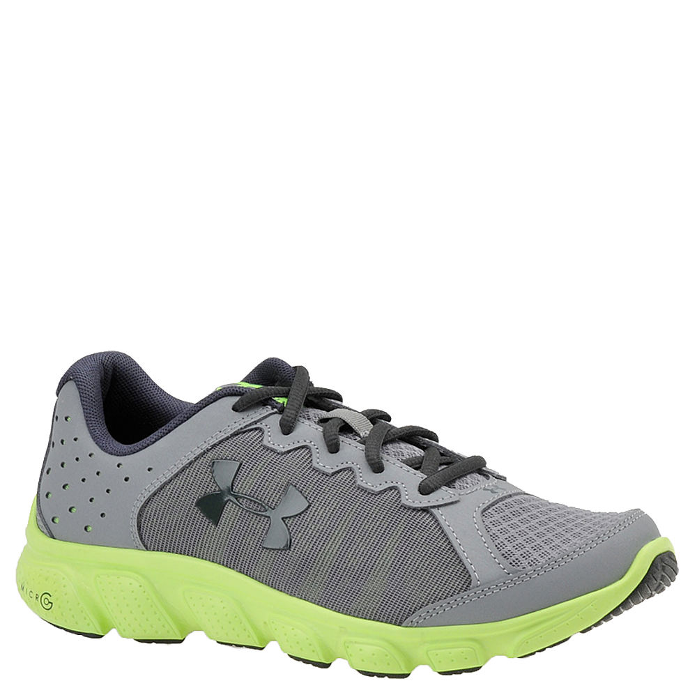 Under Armour BGS Micro G Assert 6 Boys' Youth Grey Running 6 Youth M 820534STL060M