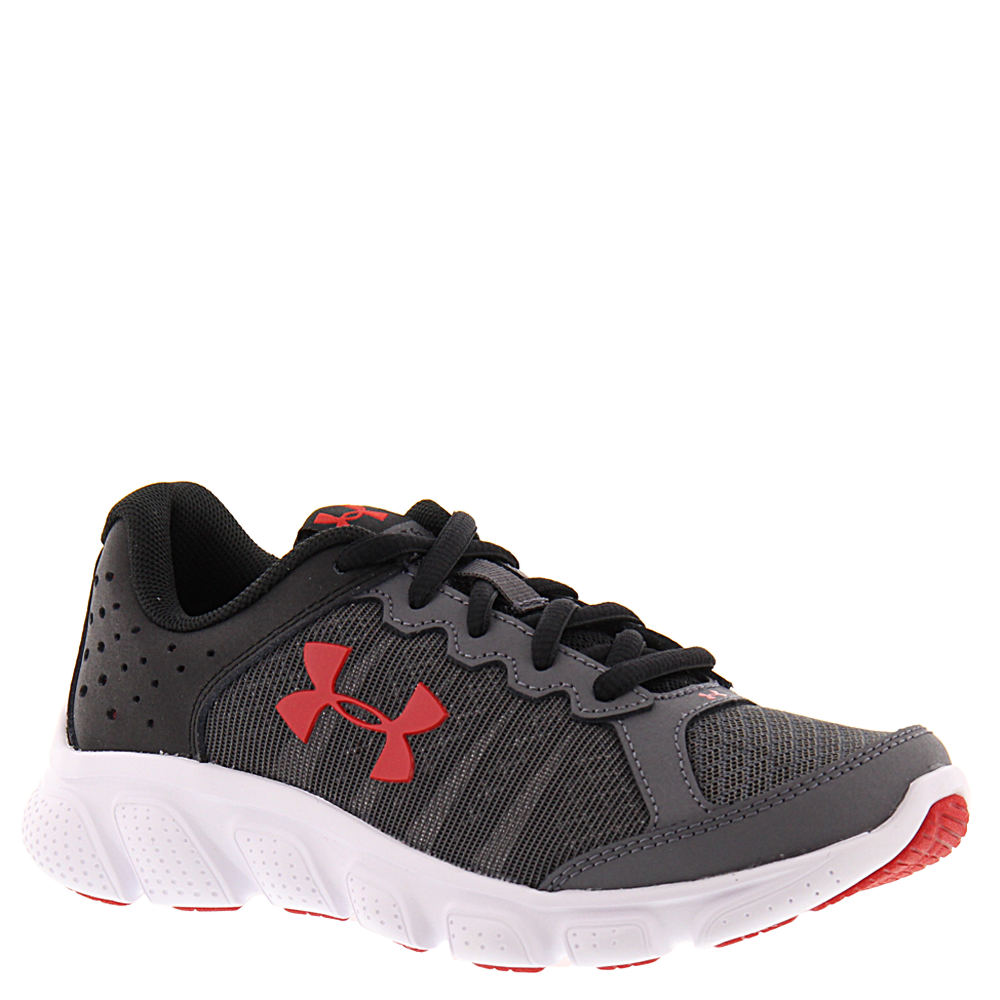 Under Armour BGS Micro G Assert 6 Boys' Youth Grey Running 6 Youth M 822527GRY060M
