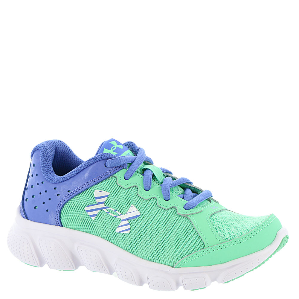 Under Armour GPS Assert 6 Girls' Toddler-Youth Green Running 10.5 Toddler M 820596MNT105M