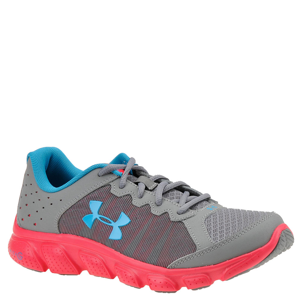 Under Armour GGS Micro G Assert 6 Girls' Youth Grey Running 6.5 Youth M 824038STL065M