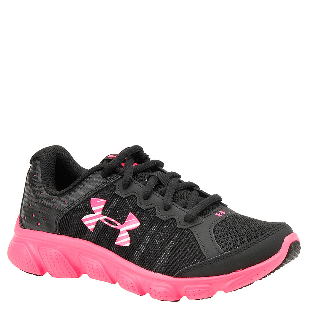 Under Armour GGS Micro G Assert 6 Girls' Youth Black Running 7 Youth M 820540BLK070M