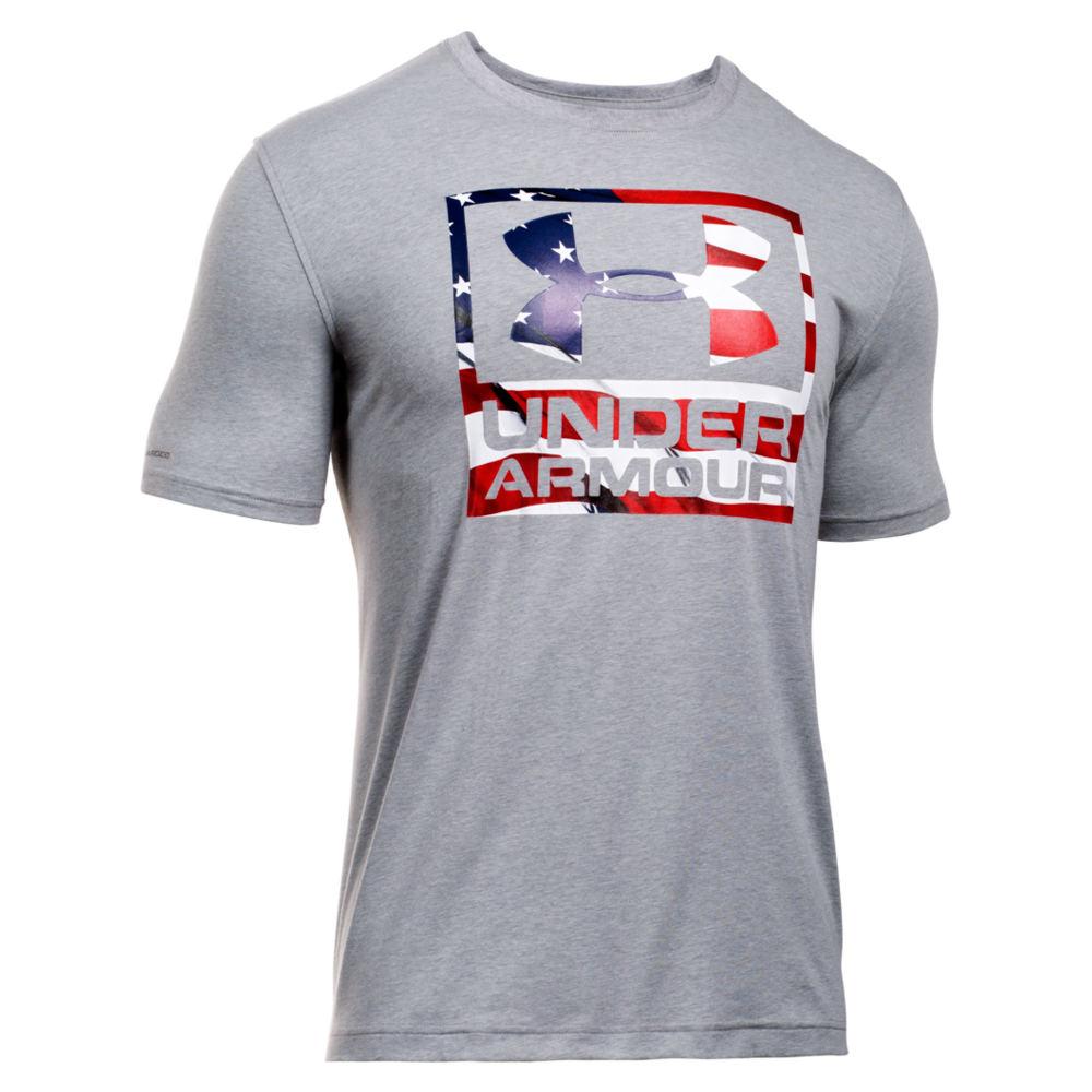 Under Armour Men's BFL Short Sleeve Tee Grey Knit Tops L 709682HTHL