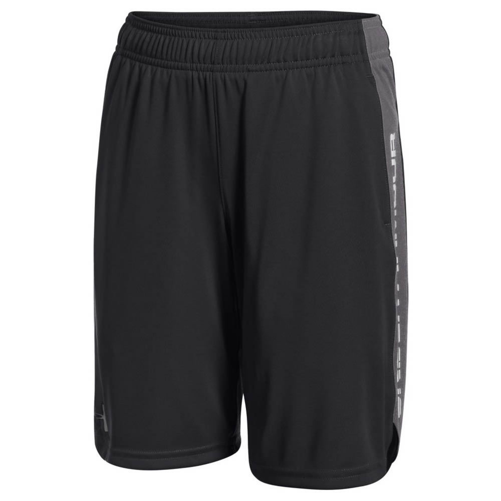 Under Armour Boys' Eliminator Short Black Knit Tops XL 818909BKPXL