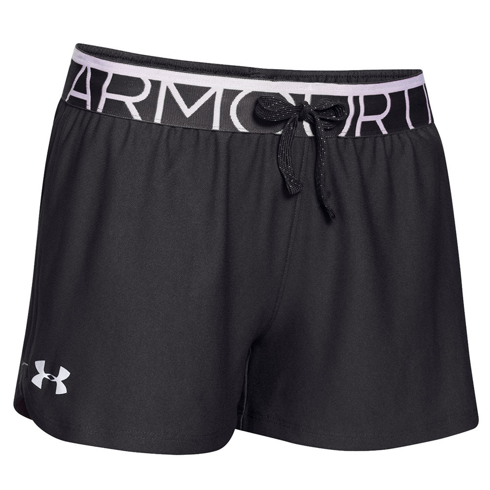 Under Armour Girls' Play Up Short Black Shorts L 818917BLKL