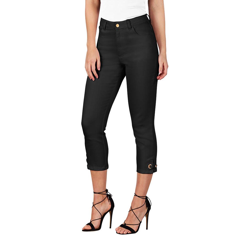Colored Denim Capris Black Pants 28W-Regular