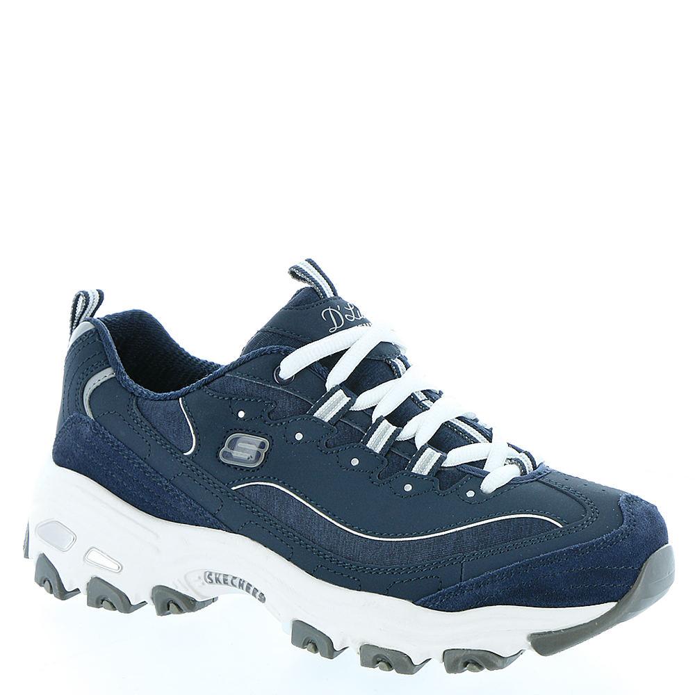 Skechers Sport D'Lites-Me Times Women's Navy Sneaker 9 M