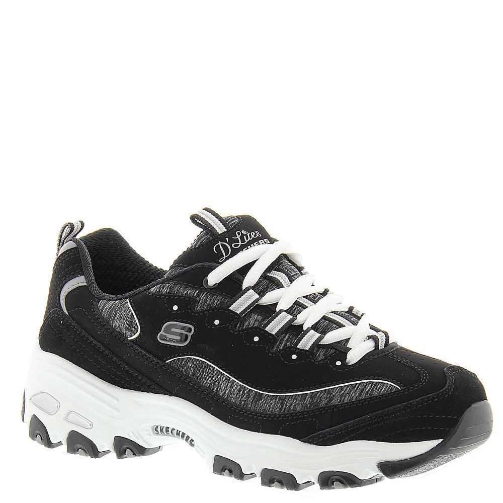 Skechers Sport D'Lites-Me Times Women's Black Sneaker 9 M