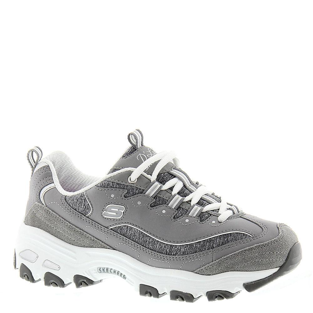 Skechers Sport D'Lites-Me Times Women's Grey Sneaker 8.5 M
