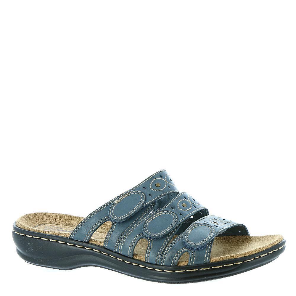 Clarks Leisa Cacti Women's Blue Sandal 12 N 515961BLU120N