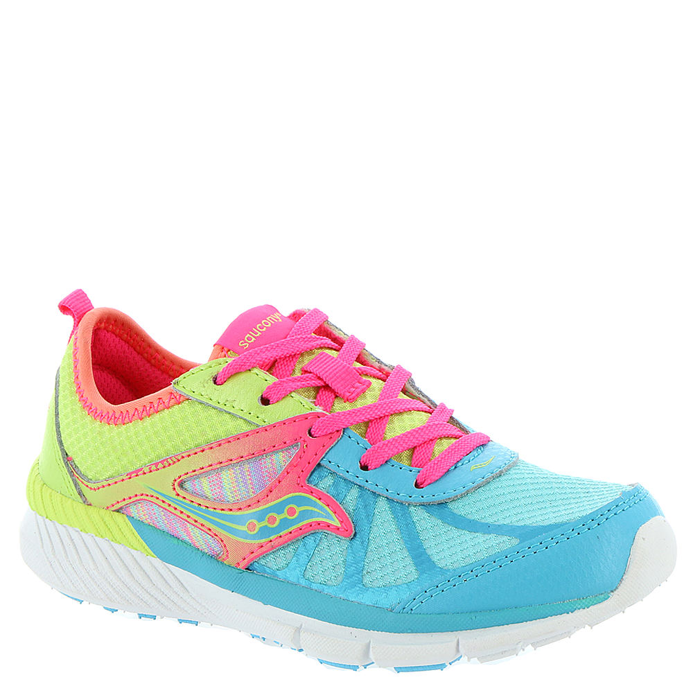 Saucony Volt Girls' Toddler-Youth Multi Running 13 Toddler M 819085MLT130M