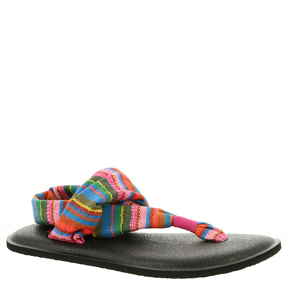 Sanuk Yoga Sling Burst Prints Girls' Toddler Pink Sandal 6/7 Youth M 826515HTP6/7M