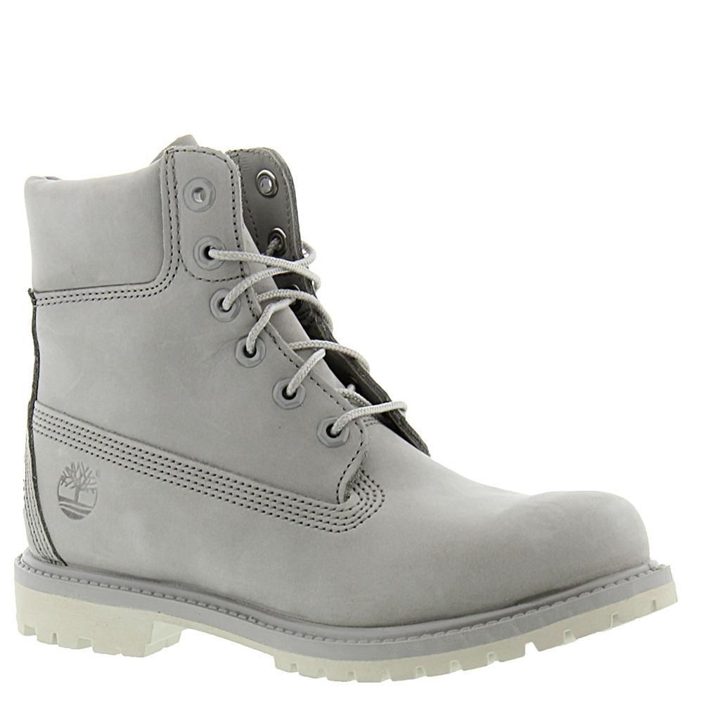 "Timberland Icon 6"" Premium Women's Grey Boot 8 M 533789LGY080M"