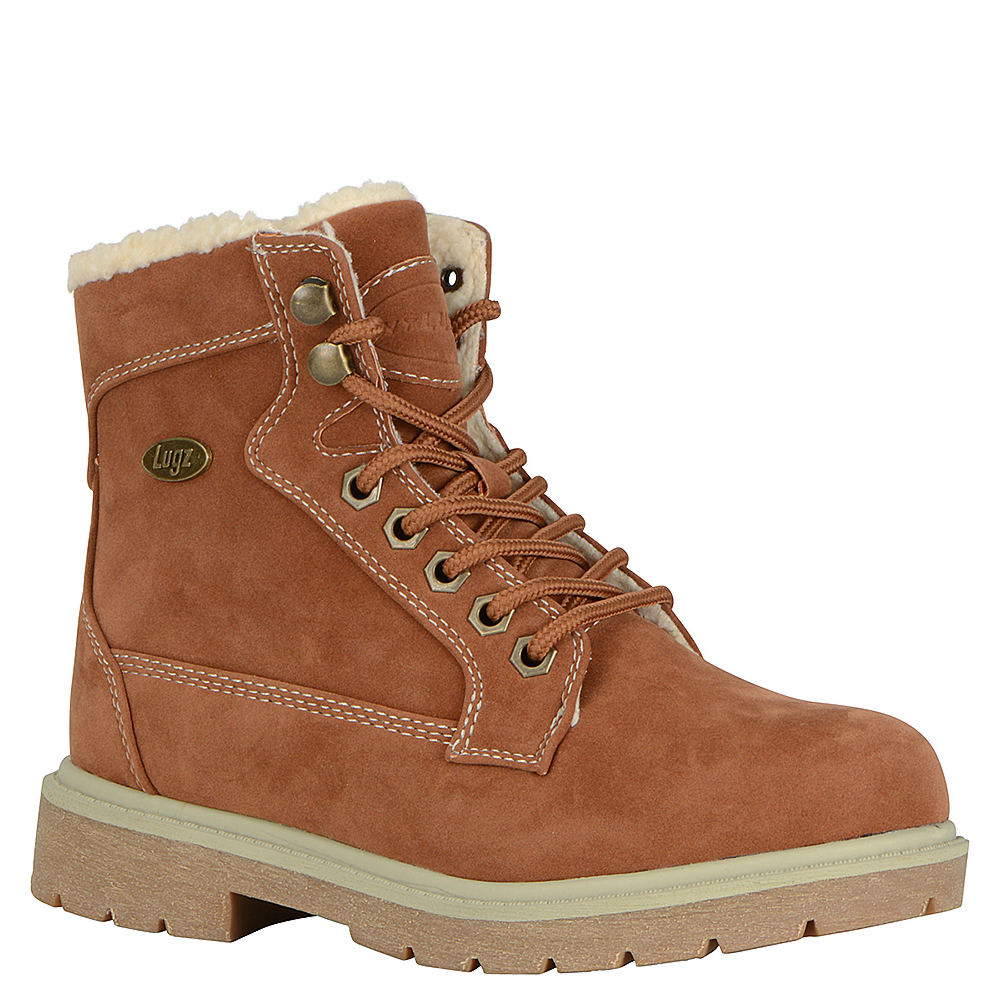 Lugz Regiment HI Fleece Women's Brown Boot 8.5 M