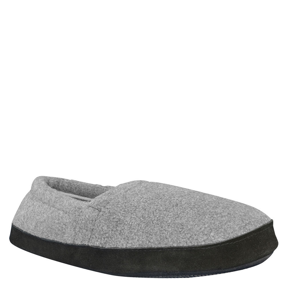 Mukluks Fleece Espadrille Men's Grey Slipper XL M