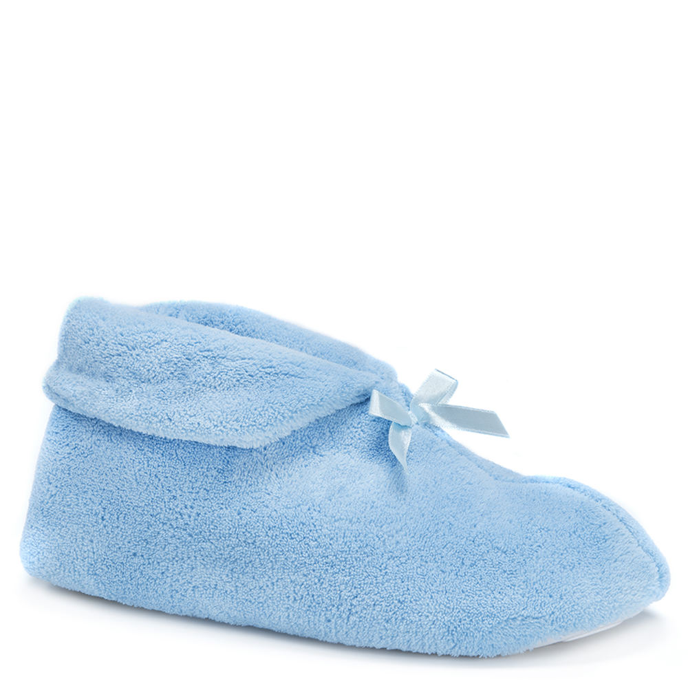 Mukluks Micro Chenille Women's Blue Slipper S M