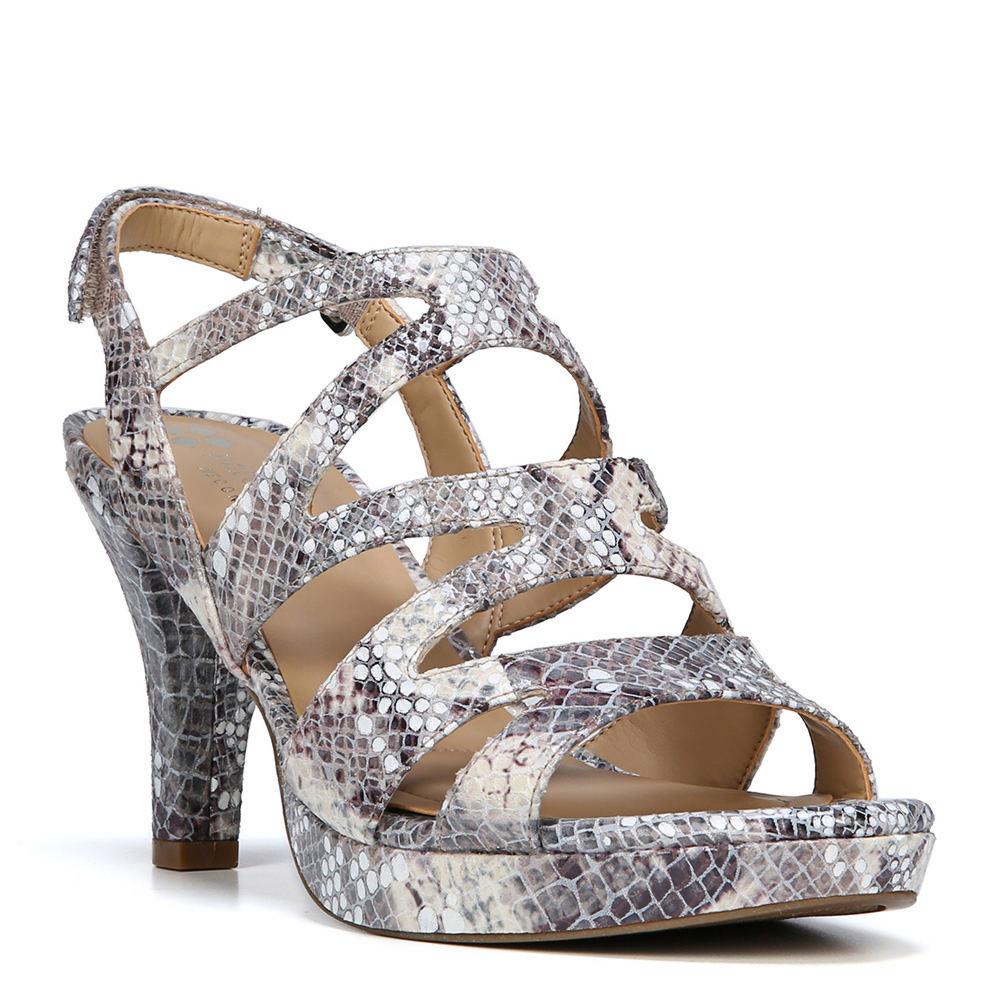 Naturalizer Pressley Women's Grey Sandal 6 N
