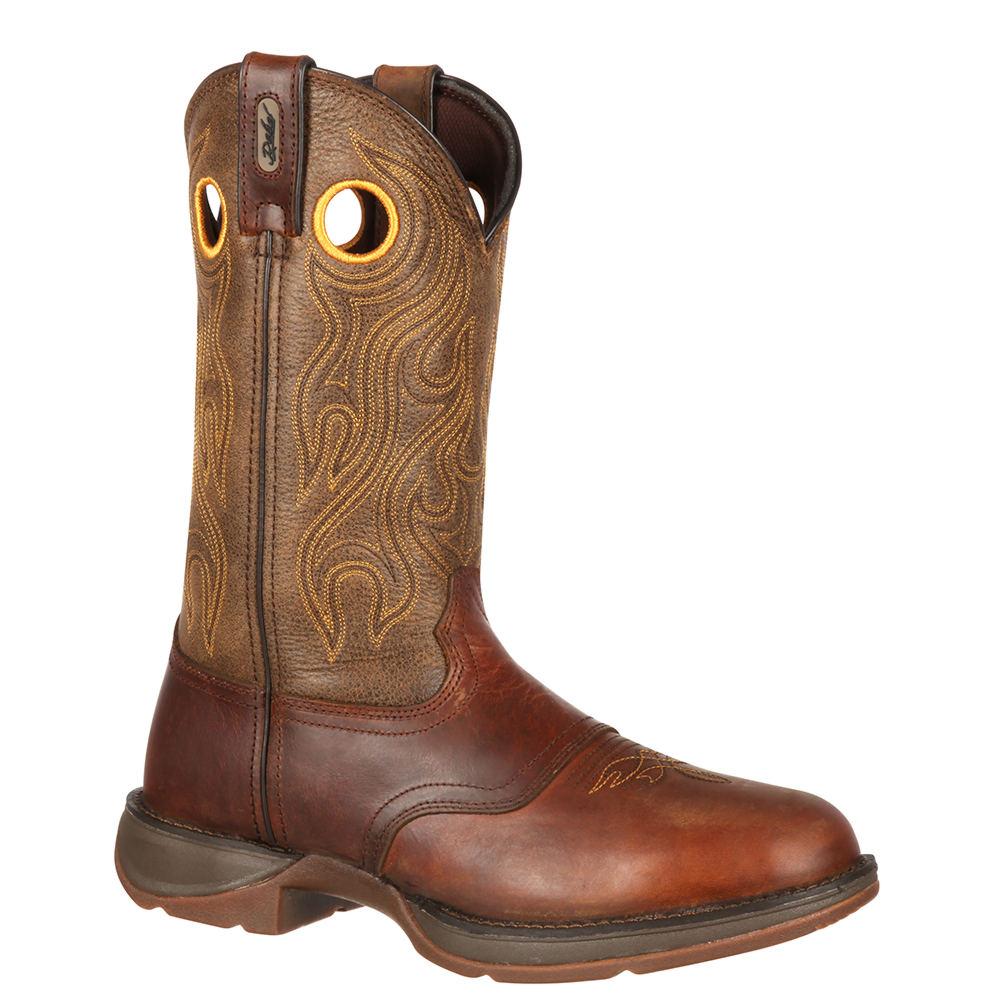 "Durango Rebel 11"" Pull On Sunset Men's Brown Boot 8 D"