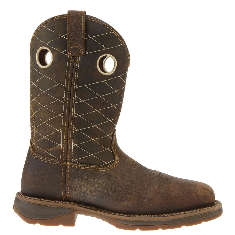 "Durango Workin Rebel 11"" Pull On Men's Brown Boot 10.5 E2"