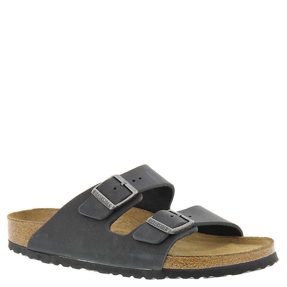 Birkenstock Arizona Soft Footbed Unisex Black Sandal 40  ...