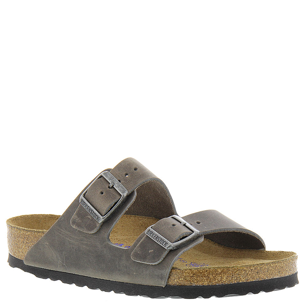 Birkenstock Arizona Soft Footbed Unisex Grey Sandal 36   ...