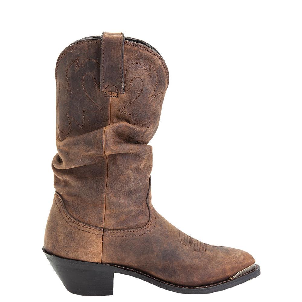 Durango Slouch Distressed Tan Women's Tan Boot 8 M