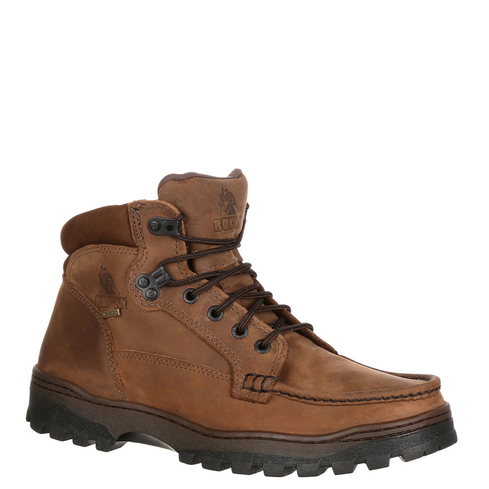"Rocky Outback Hiker 6"" Men's Brown Boot 10.5 W"