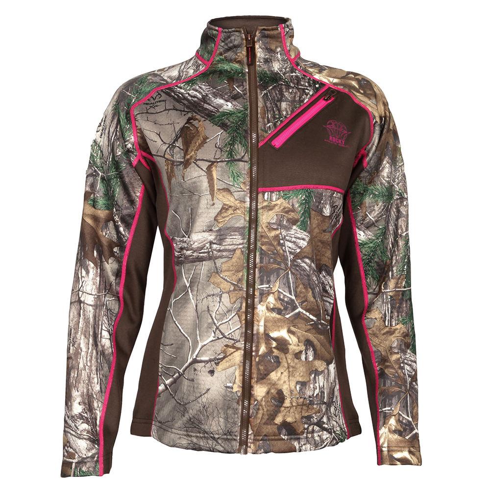 Rocky Women's RAM Fleece Jacket Brown Jackets XL