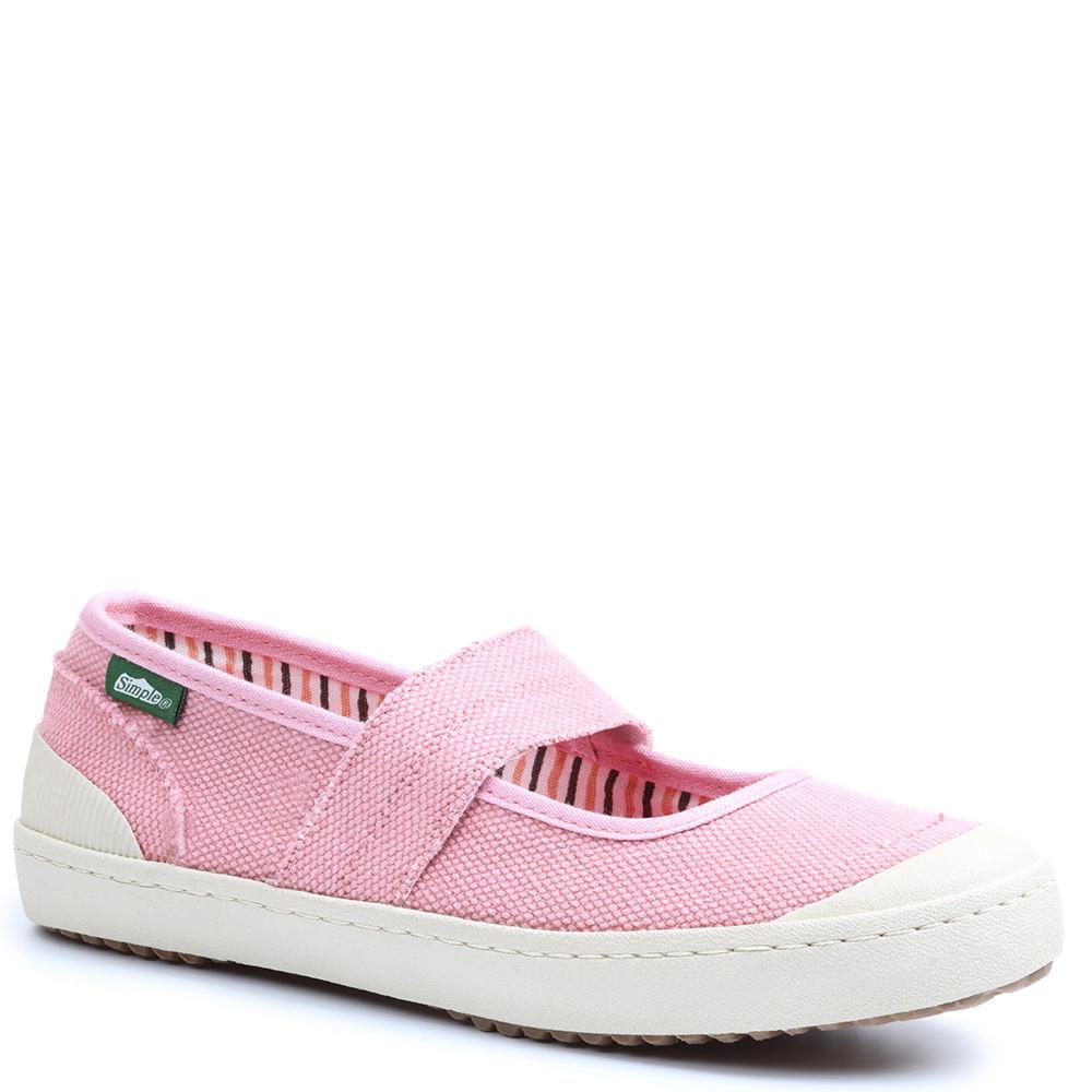 Simple Cactus Women's Pink Slip On 10 M