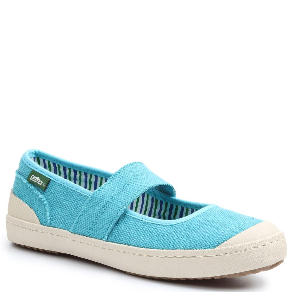 Simple Cactus Women's Blue Slip On 9 M