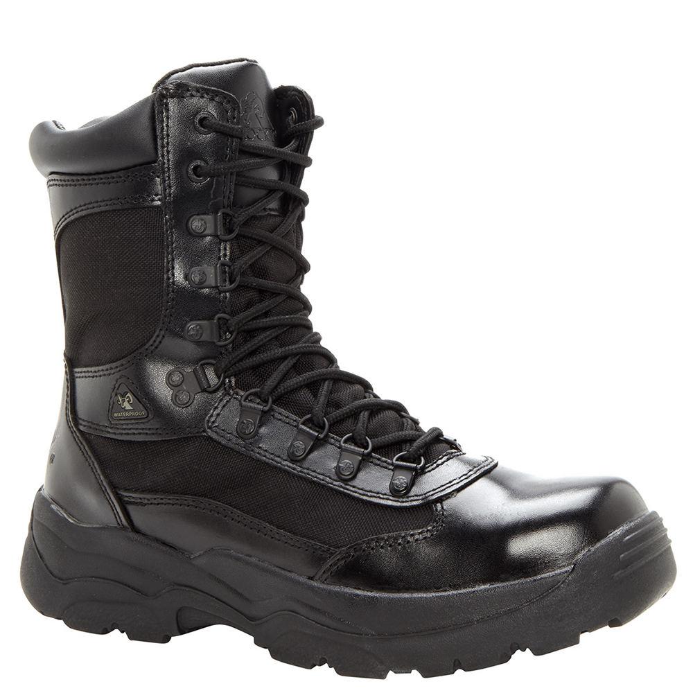 Rocky Fort Hood Men's Black Boot 10 W