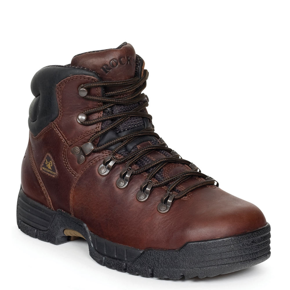 "Rocky Mobilite 6"" ST  Men's Brown Boot 9 W"