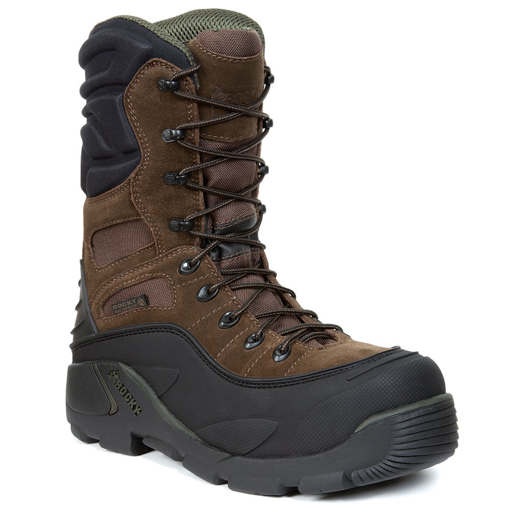 Rocky Blizzard Stalker Men's Brown Boot 9 M
