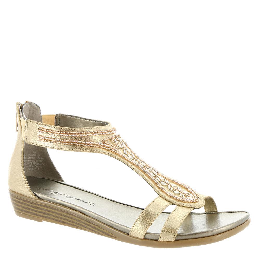 Easy Spirit Amalina Women's Gold Sandal 8 M