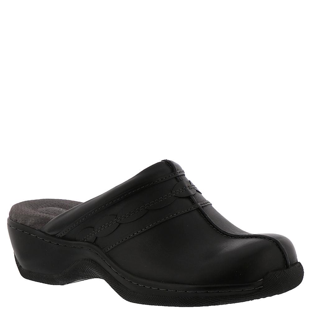 SoftWalk Abby Women's Black Slip On 6 W