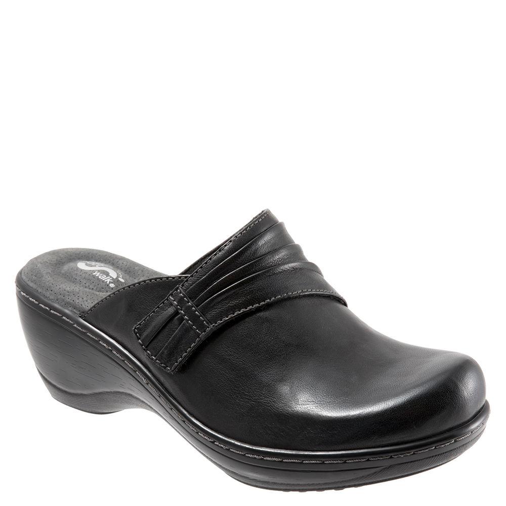 SoftWalk Mason Women's Black Slip On 8 M