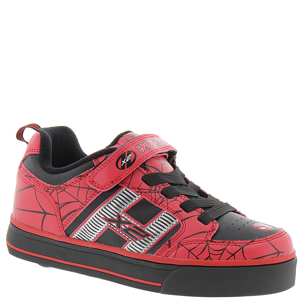 Heelys Bolt Plus X2 Spiderman (Boys' Toddler-Youth) Red-Black 820136