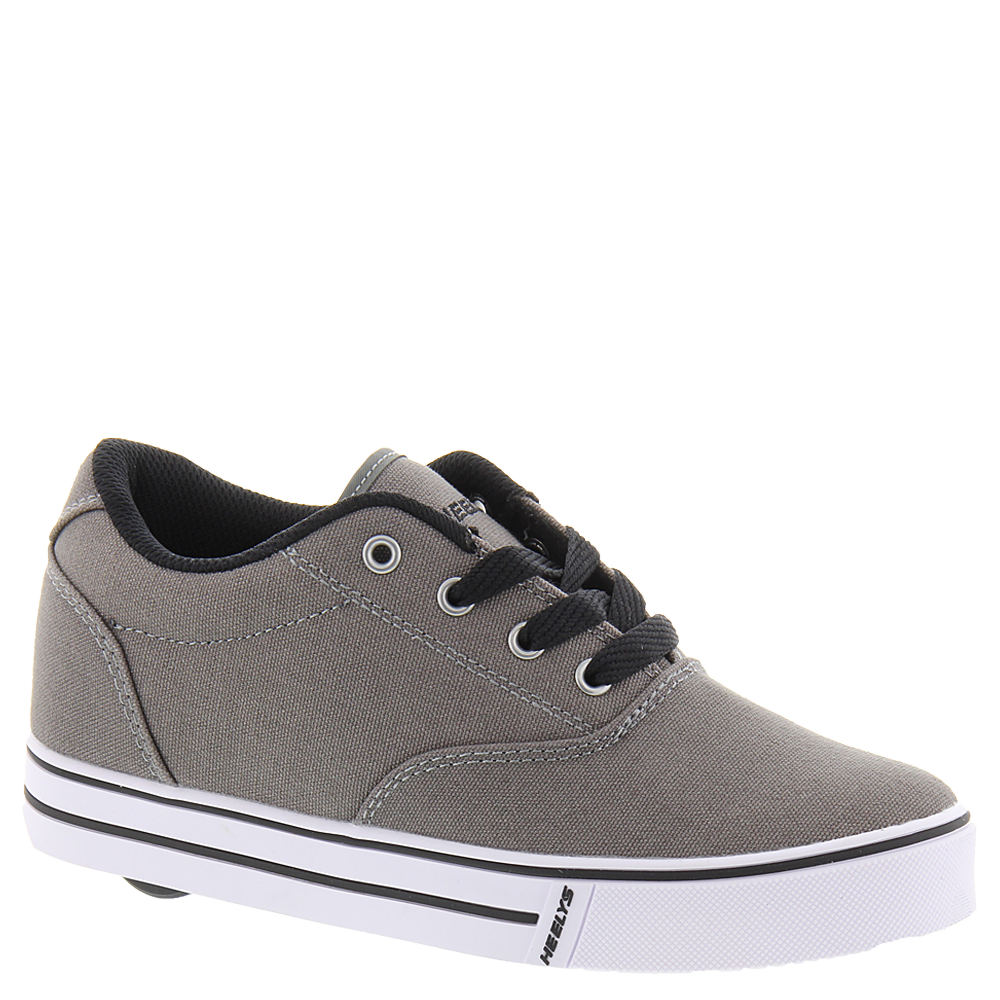 Heelys Launch Boys' Toddler-Youth Grey Skate 5 Youth M