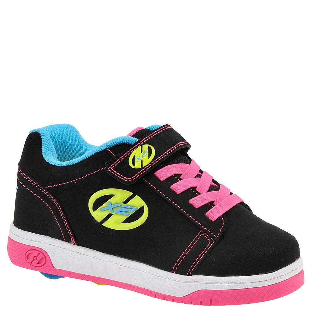 Heelys Dual Up X2 Girls' Toddler-Youth Black Skate 1 Youth M