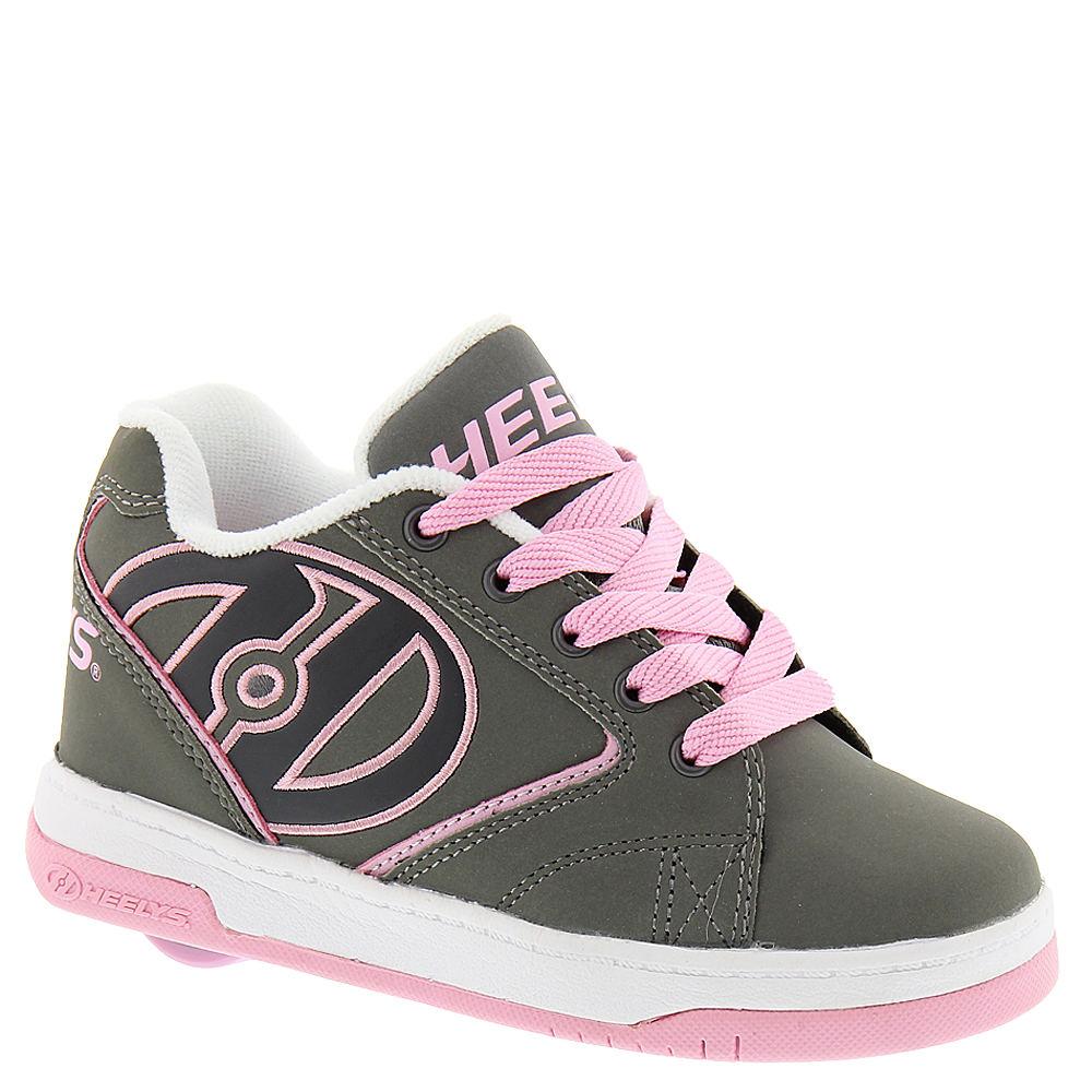 Heelys Propel 2.0 Nubuck Girls' Toddler-Youth Grey Skate ...
