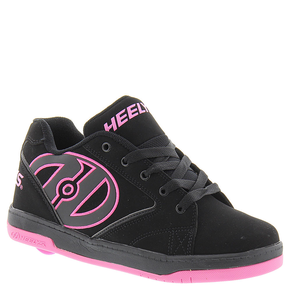 Heelys Propel 2.0 Nubuck Girls' Toddler-Youth Black Skate...