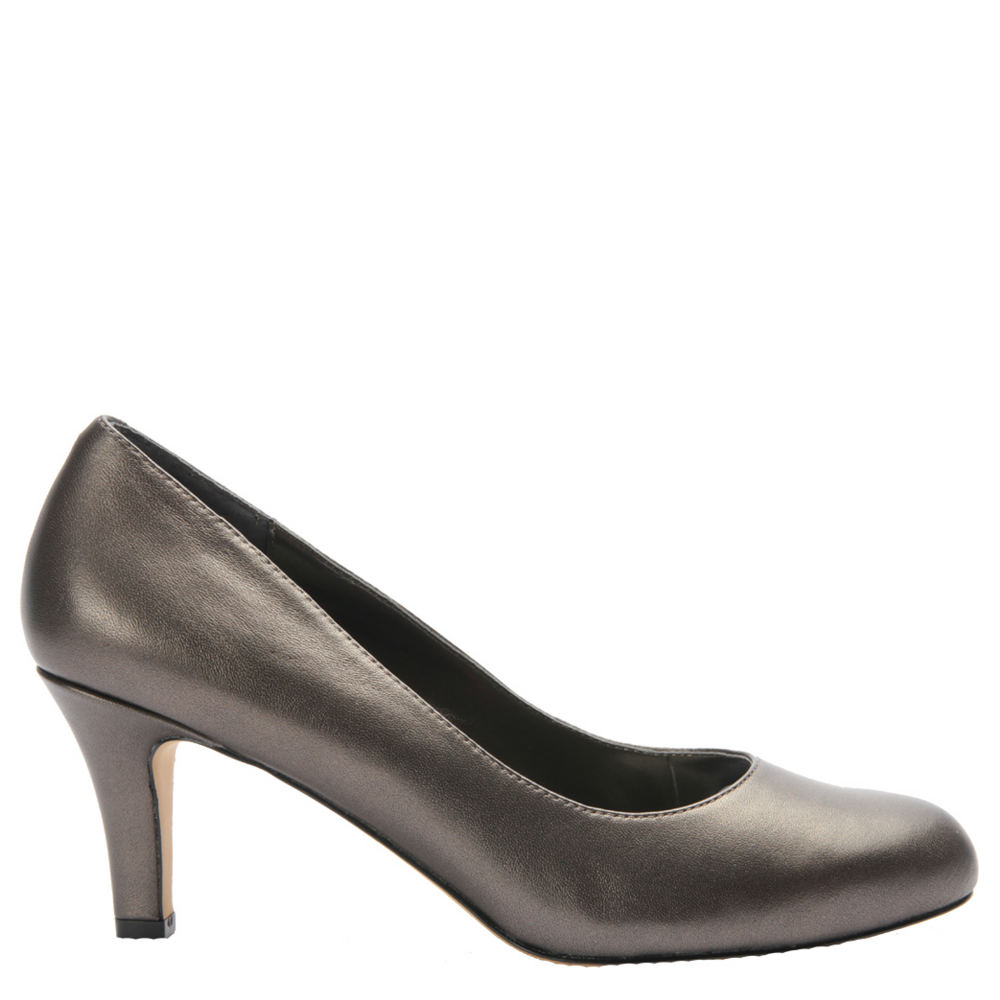 Ros Hommerson Janet Women's Pewter Pump 10.5 M